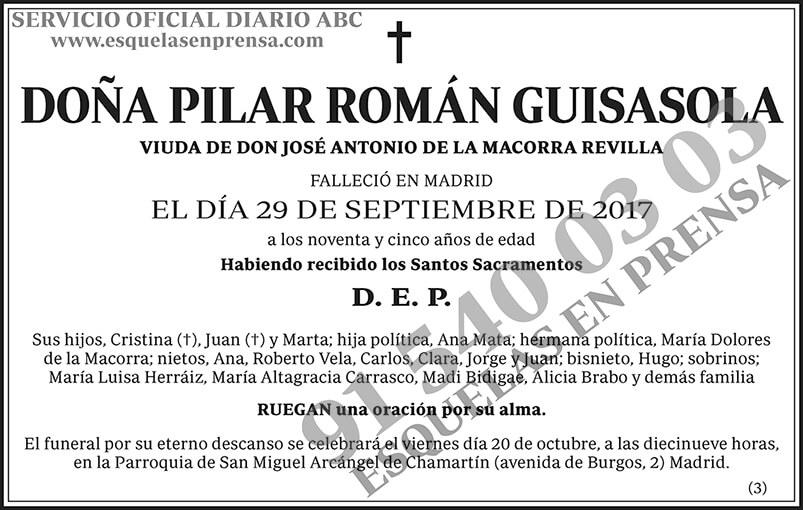 Pilar Román Guisasola